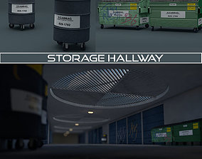 Storage Hallway 3D