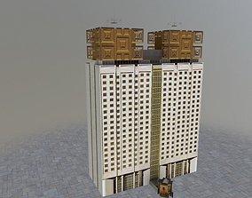 Moscow RAN Building 3D asset