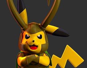 Pikachu Loki 3D print model