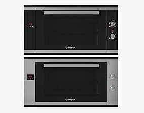 90 cm Built-in single oven Serie 6 BOSCH 3D