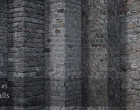 3D Textures Pack 5 - Stone walls