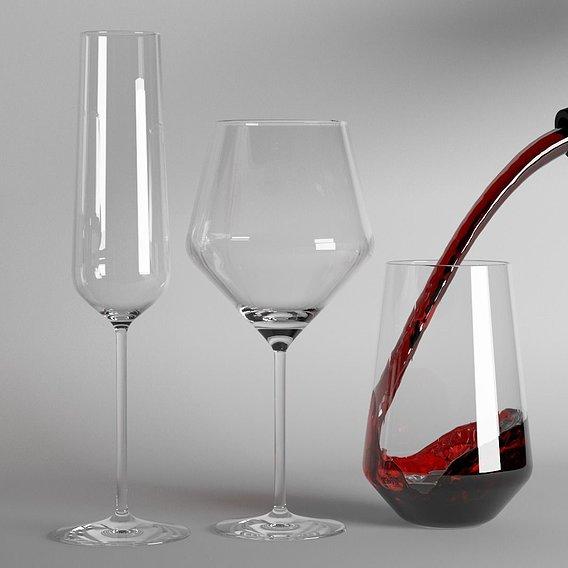 Just a simple wine drop