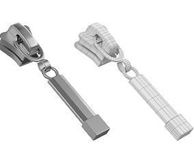3D asset Zipper Slider 04 Base Mesh