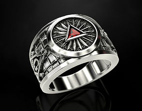 Mason Man ring 3 3D printable model