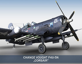 3D Change Vought F4U-5N Corsair aircraft