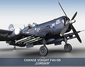 3D Change Vought F4U-5N Corsair aircraft