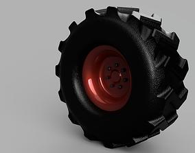 3D studio Wheel