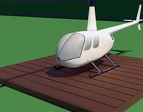 3D print model Robinson Raven R44