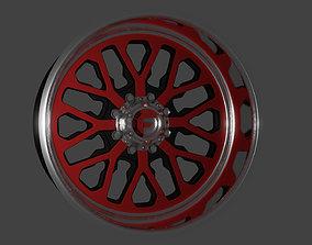 Fuel Forged FF45 wheel 3D print model