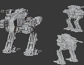 Battle robot 3D printable model