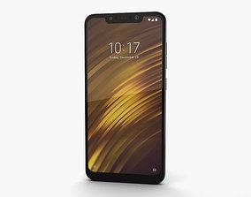 3D model Xiaomi Pocophone F1 Graphite Black
