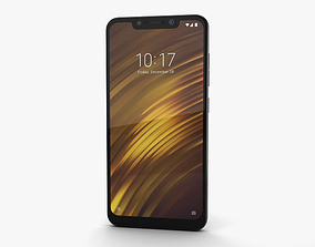 3D model Xiaomi Pocophone F1 Graphite Black