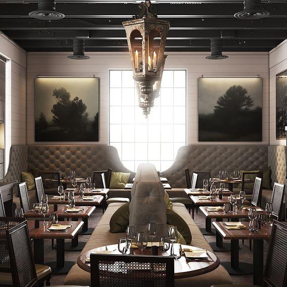 La V Restaurant.
