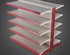 SAM - Commercial Shelf 03 - PBR Game Ready 3D asset
