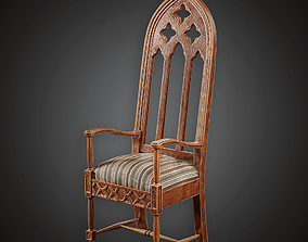 MVL - Chair - PBR Game Ready 3D model realtime