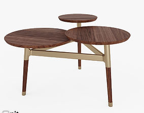 Clover Coffee Table by West Elm 3D model west