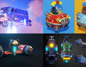 3D Flying cars