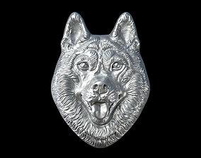 3D printable model Head husky lucky