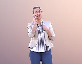 3D model game-ready Rocio 10575 - Talking Business Woman