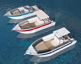 Motorboats asset pack 3D