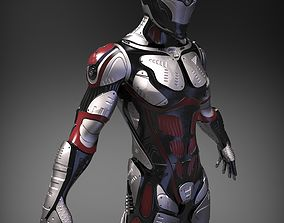 3D model Sci-Fi Character