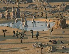 Desert Environment 3D