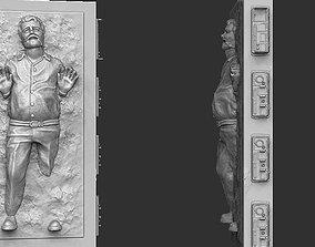Star Wars Statue - George in Carbonite 3D printable model