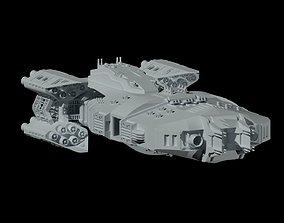 The spaceship Dreadnought 3D