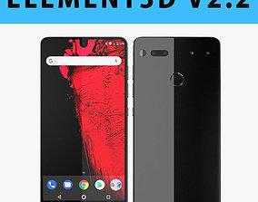 E3D - Essential Phone Titanium 3D model model