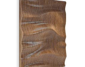 parametric wall 02 3D