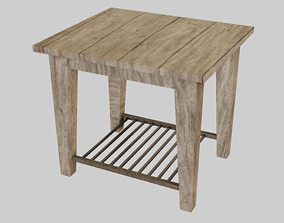 3D model Small Table furniture
