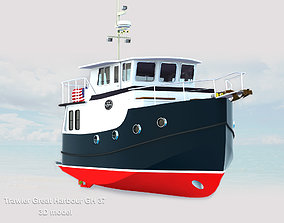 3D asset Trawlers Great Harbour GH 37