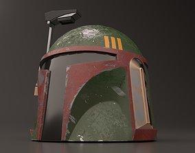 Boba Fett Helmet 3D PBR