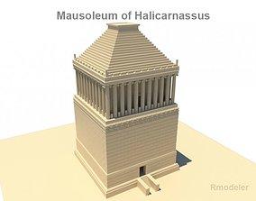 3D Mausoleum of Halicarnassus