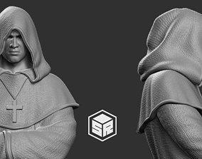 MONK Character 3D print model