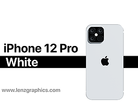 iPhone 12 Pro White 3D
