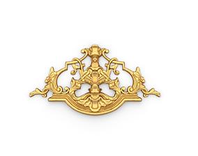 3D print model Classic decor ornament 20