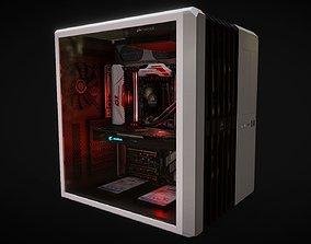3D model Gaming pc