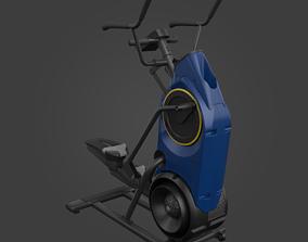 3D asset Elliptical trainer-Exercise Equipment-03