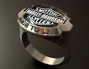 3D printable model Harley Devidson Ride To Live