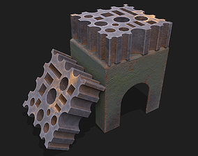 3D asset Blacksmith Yorkshire