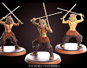 Inosuke Hashibira - Kimetsu no Yaiba 3D printable model