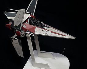 Star Wars Alpha-3 Nimbus-class V-wing 3D printable model