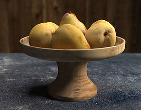 Pear - low poly 3D