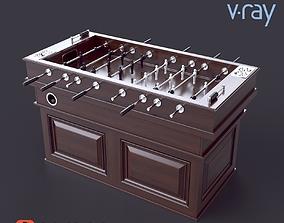 Foosball table football 3D model