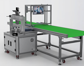 Automatic Weighing Assembly Line 3D model