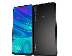 Huawei P Smart 2019 Black smart 3D