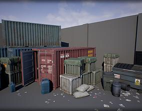 3D asset Industry Props Pack 4