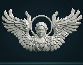 Angel Relief 3D print model