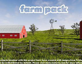 3D asset Farm Pack